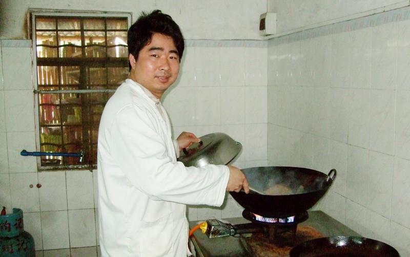 我们的厨房师傅